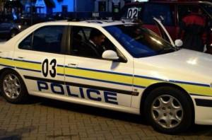2001 Police course car