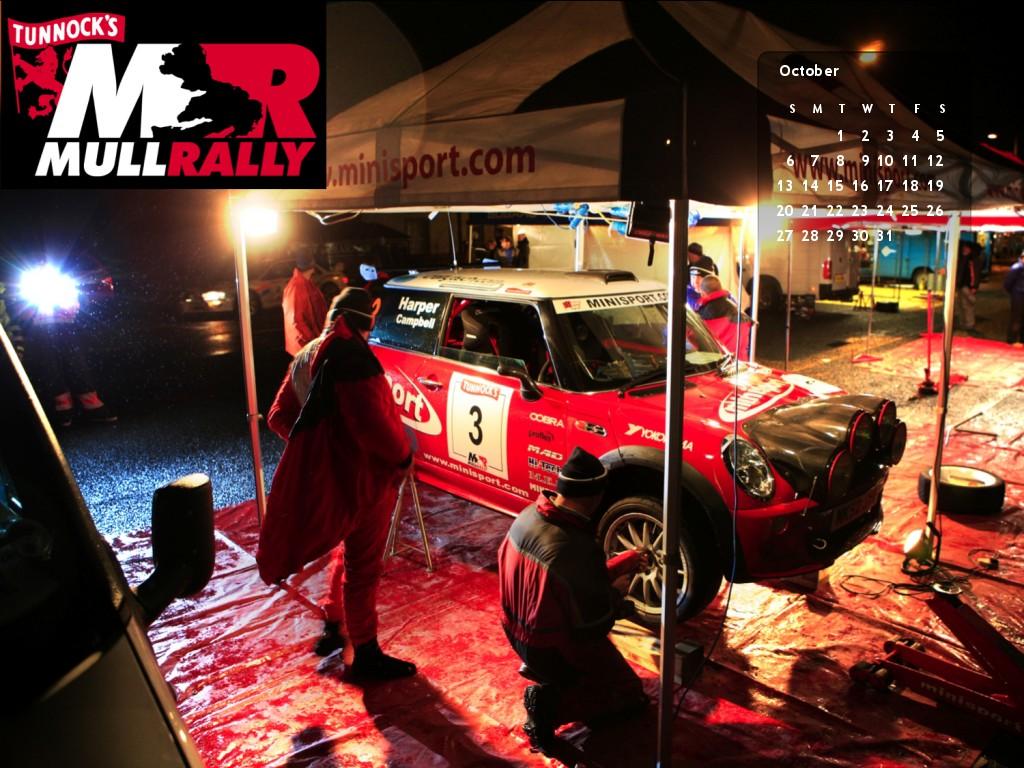 October 13 Mull Rally calendar